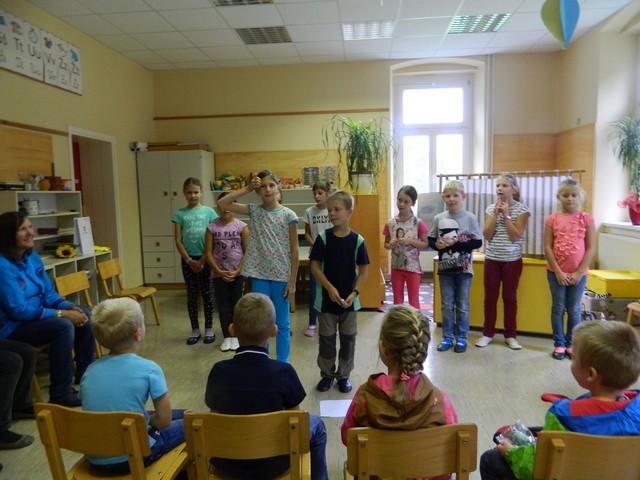 Prvi šolski dan, prvi gozdoljub