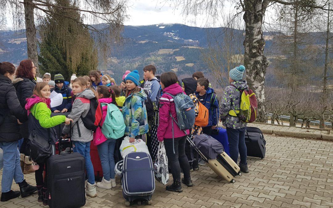 Kolesarski tabor za 4. in 5. razred podružničnih šol, 1. dan