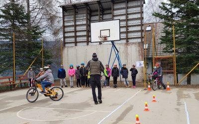 1. dan, Kolesarski tabor za 4. in 5. razrede podružnic v Libeličah